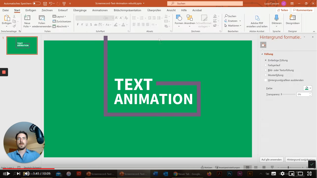 Animationsvideo PPT 2