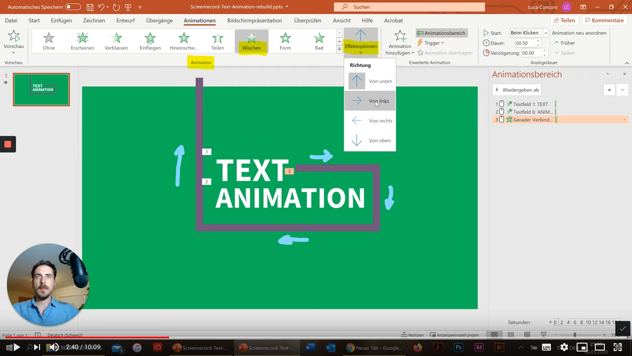 Animationsvideo PPT 3