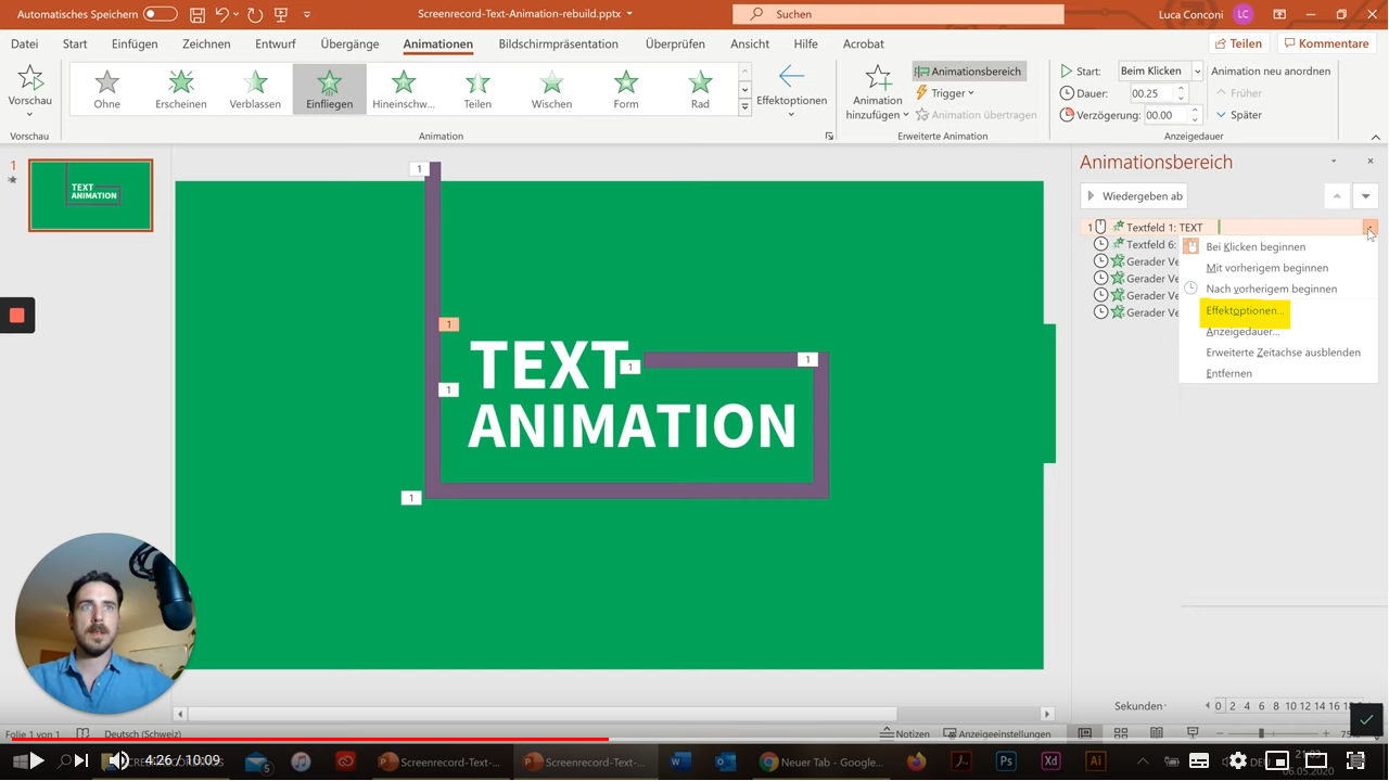 Animationsvideo PPT 6