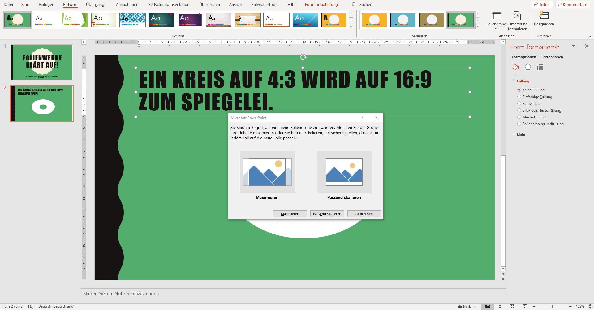 Slide-Format 3